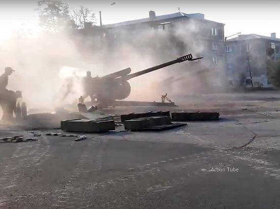 Армия ДНР уничтожила огнем позиции украинских военных в Донбассе