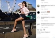 Гуляющую по Лондону российскую звезду Play Boy ущипнули за ягодицу