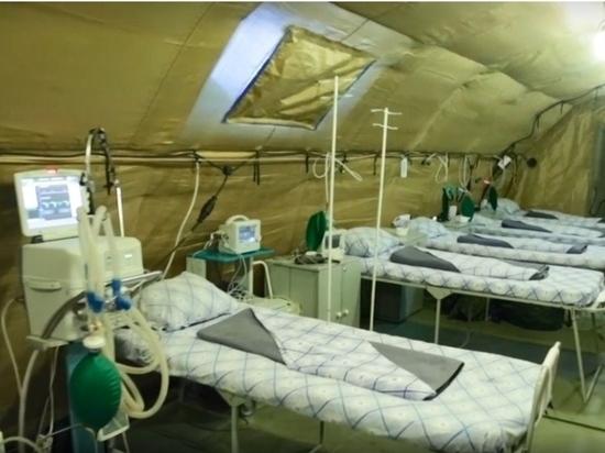 Два полевых мобильных госпиталя разместят в Дагестане
