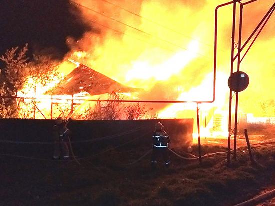 Ночью в Чебоксарском районе сгорел жилой дом