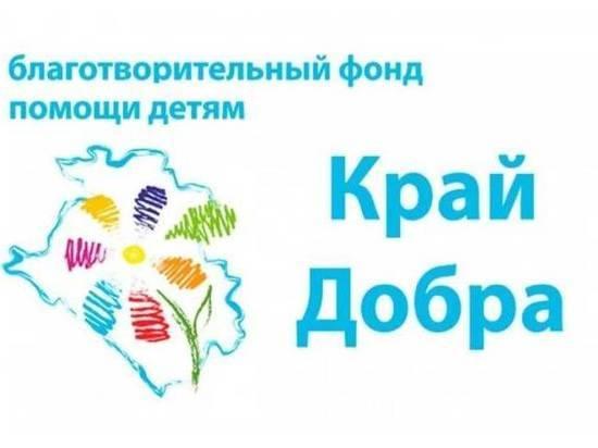 Благотворительный фонд обеспечил едой многодетную семью на Кубани