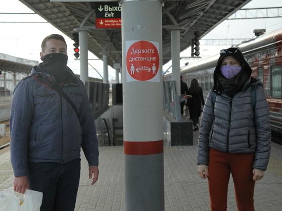 ГЖД предлагает пассажирам купить маски и перчатки в кассах на вокзале