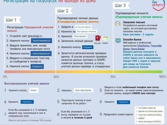 Южноуральцам показали, как регистрироваться на сайте госулуг