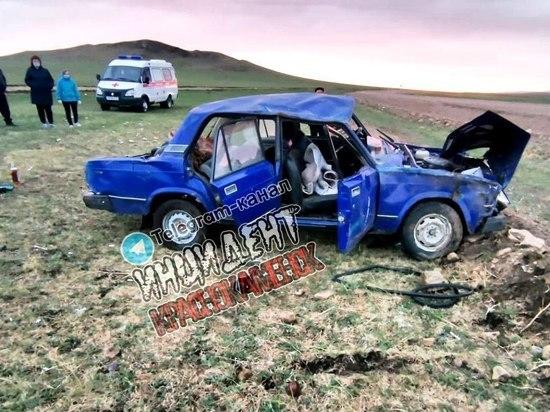 Водитель «Жигулей» погиб в ДТП в Забайкалье