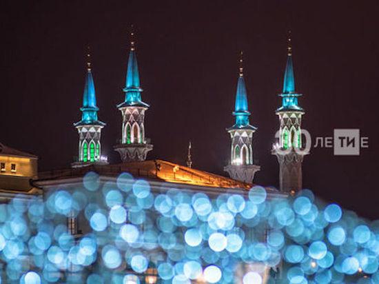На замену подсветки в мечети Кул-Шариф потратили более 10 млн рублей