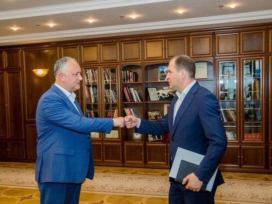 Игорь Додон провел рабочую встречу с мэром Кишинева Ионом Чебаном