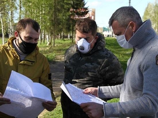 Начато благоустройство парка на улице Волочаевской в Рыбинске