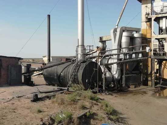 В Калмыкии проверили асфальтобетонные заводы
