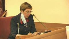Депутат зачитала на видео жуткое письмо больной коронавирусом