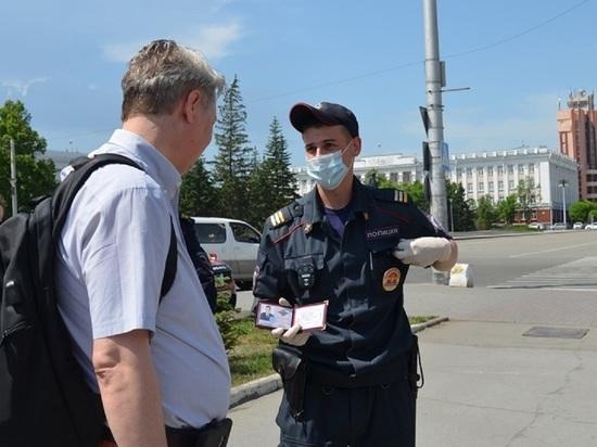 Полсотни протоколов о нарушении масочного режима переданы в суды Алтайского края