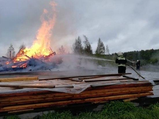 Подробности пожара, уничтожившего церковь под Сергиевым Посадом: сбывается библейское сказание