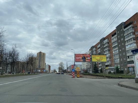 С 25 мая перекроют часть Рижского проспекта в Пскове