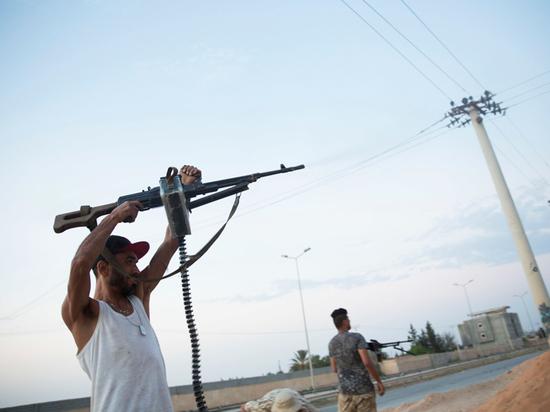 В Ливии показали тело убитого наемника из «российской ЧВК»