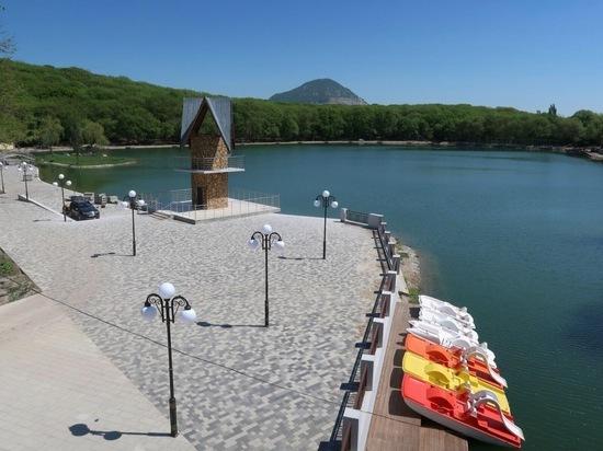 В Железноводске за безопасность на озере будут отвечать спасатели на воде