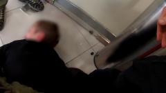 Появилось полное видео молниеносного задержания захватчика заложников в банке