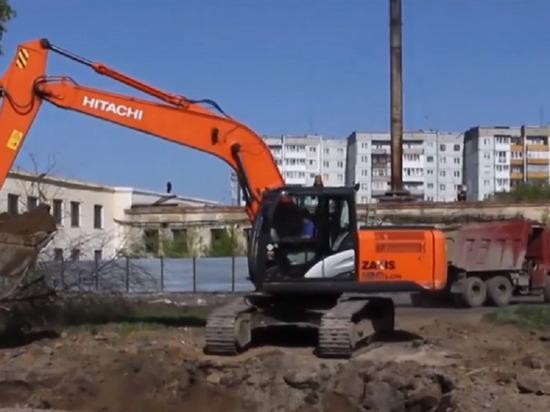 Новый ледовый дворец начали возводить в Кемерове