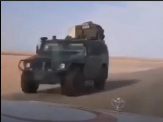 В Ливии запечатлели колонну бронетехники «российских наемников»