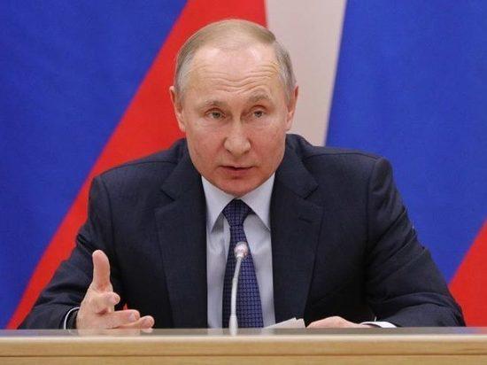 Путин вышел из самоизоляции
