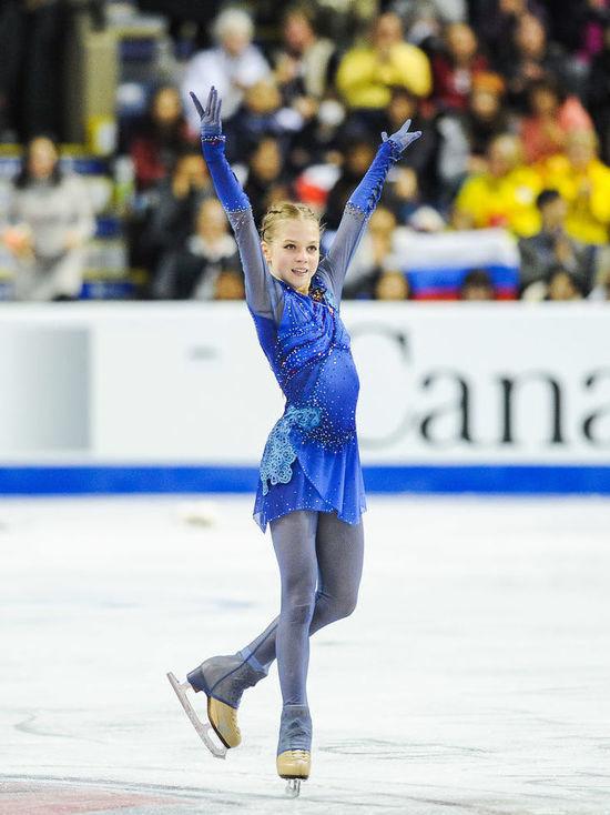 Трусова в третий раз попала в Книгу рекордов Гиннесса