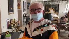 Борис Моисеев специально для «МК» вышел из «безсознанки» по видеосвязи