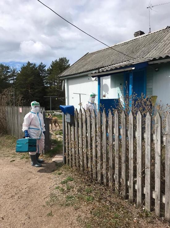 В поселках Олонецкого района продлили ограничительные меры из-за всплеска коронавируса