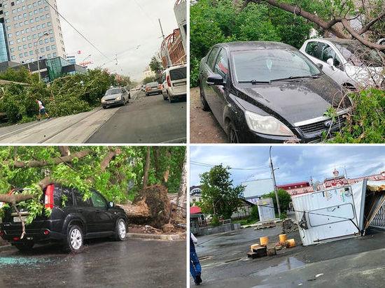 На Новосибирск несется разрушительный екатеринбургский ураган