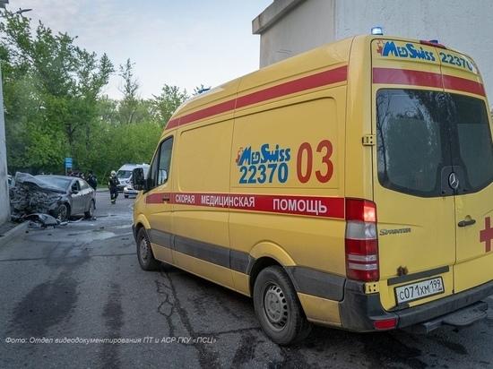 В ДТП на юге Москвы погиб сотрудник полиции