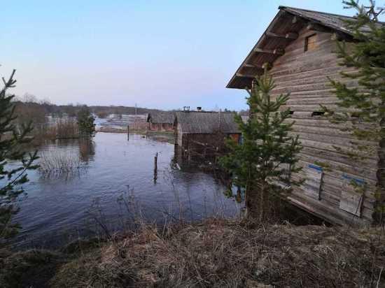В Вельском районе ущерб от паводка оценили в в 20 млн рублей