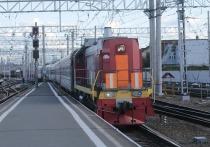 Электровоз сошел с рельс в Забайкалье, движение поездов приостановлено