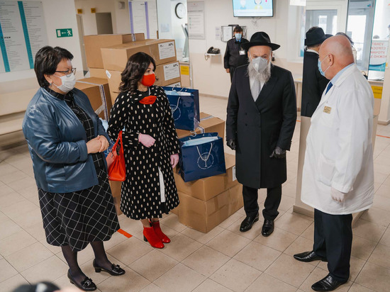 ФЕОР осуществляет крупные поставки защитных средств в больницы