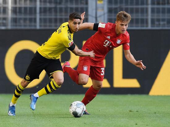 «Бавария» победила «Боруссию» и почти стала чемпионом Германии