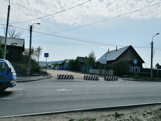 В Улан-Удэ водитель «Киа Бонго» сбил пешехода