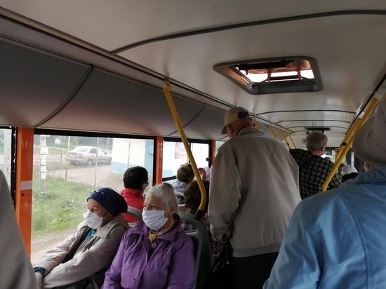 Оренбургские дачники жалуются на транспорт