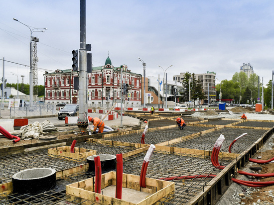 Реконструкция в центре Перми идет полным ходом