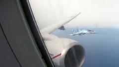 Американцы пожаловались на перехват самолета-разведчика российскими Су-35: видео