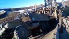 В ЯНАО на трассе «Обская — Бованенковское» обрушился мост
