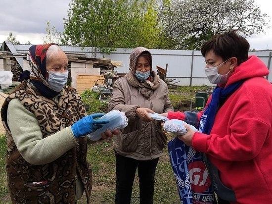 В Серпухове продолжат раздавать бесплатные маски