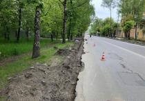В Серпухове начались плановые работы по ремонту дорожного полотна