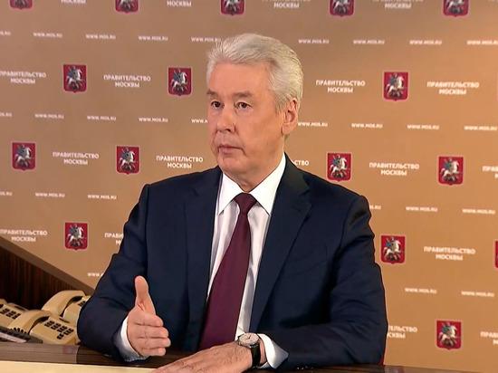 Собянин предложил москвичам гулять по графику