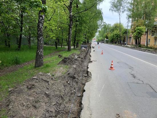 В Серпухове стартовал плановый ремонт дорог