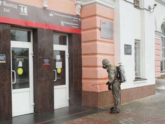 В Йошкар-Оле провели дезинфекцию железнодорожного вокзала