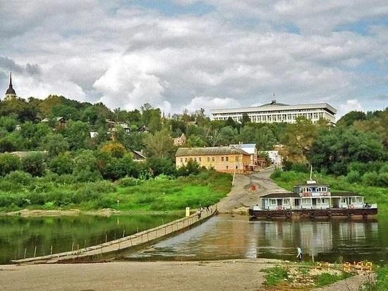 Шапша предложил вернуть на Оку понтонный мост