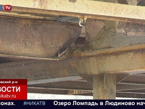 Шапша поручил основательно заняться мостом в Людиново