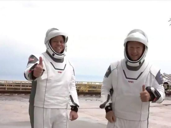 Трамп прилетел запускать корабль Илона Маска на МКС