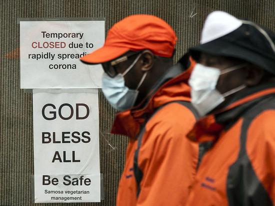 Жертвами коронавируса в США числятся уже более 100 тысяч человек