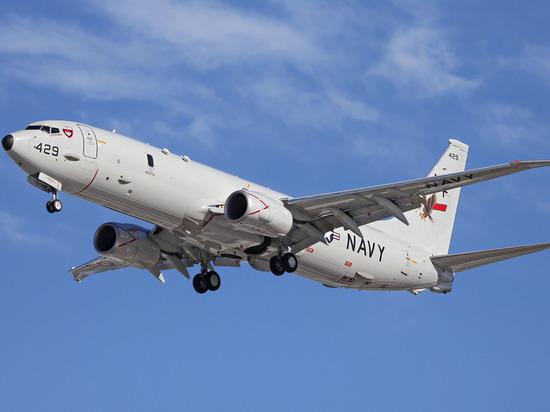 Самолет ВМС США пролетел вблизи Крыма с целью разведки