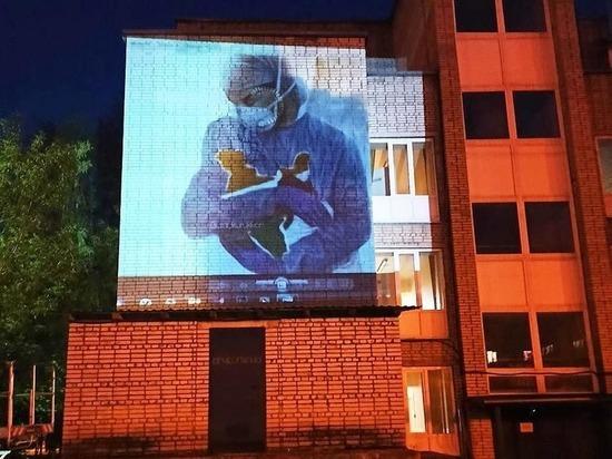 В Чехове начали рисовать новое граффити