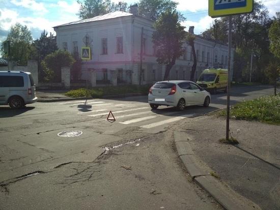 В Костроме пешеход пострадал под колесами Хендай