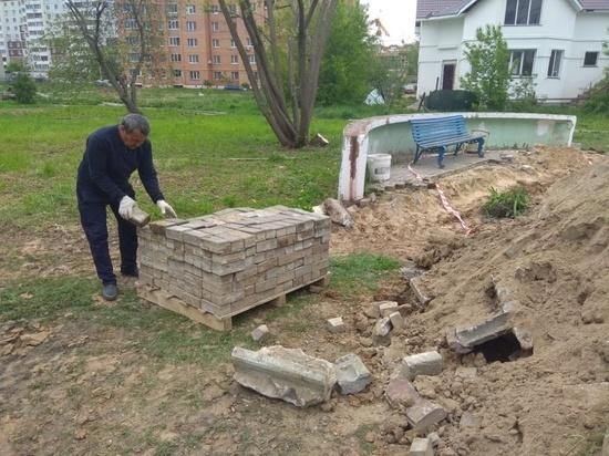 В Серпухове благоустроят 32 двора в 2020 году