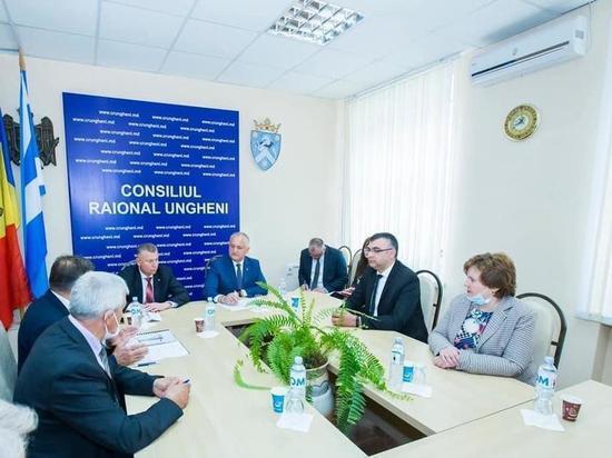 Президент Молдовы посетил с рабочим визитом Унгенский район